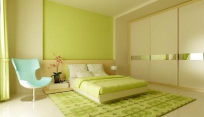 Dormitorio verde15