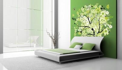 Dormitorio verde25