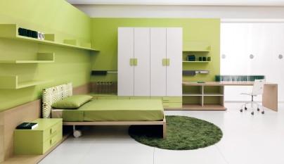 Dormitorio verde27