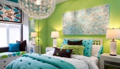 Dormitorio verde3