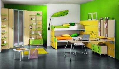 Dormitorio verde31