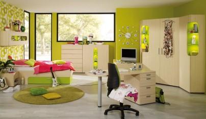 Dormitorio verde33