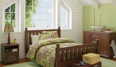 Dormitorio verde34