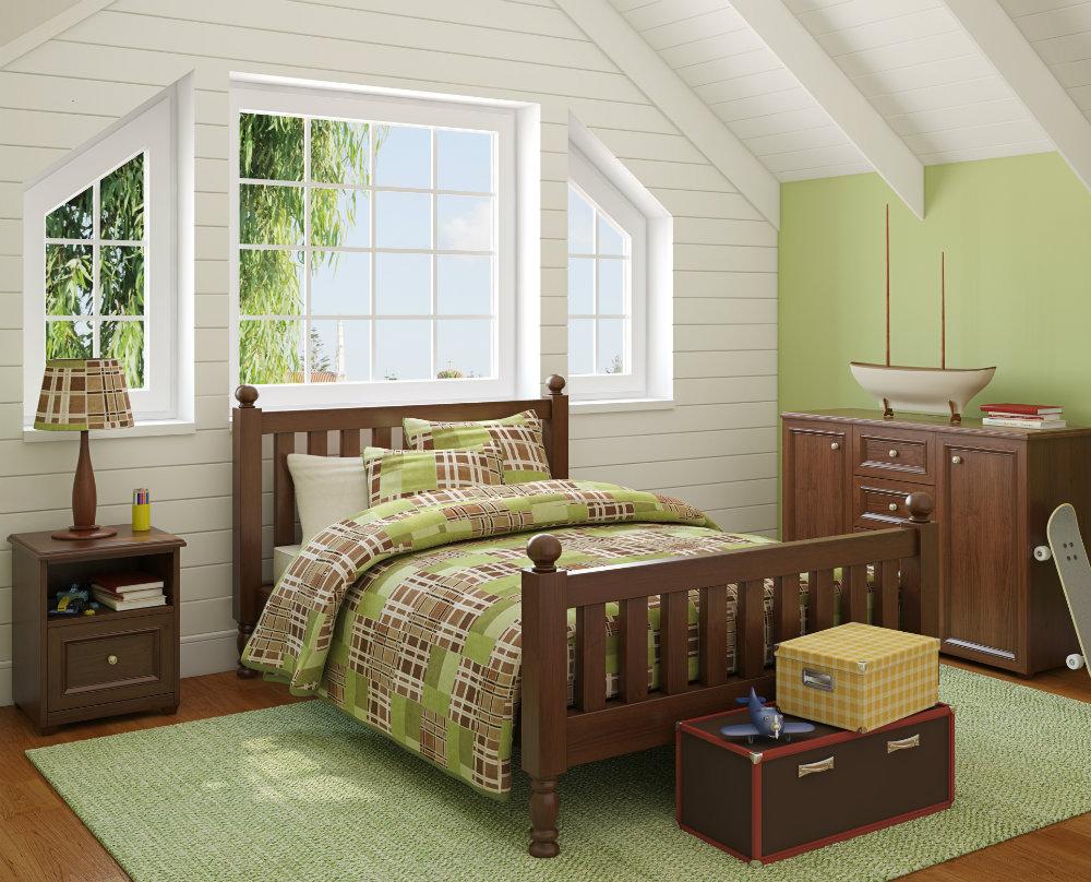 Fotos de dormitorios de color verde - Dormitorio verde ...