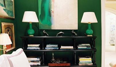 Dormitorio verde35