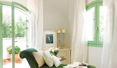 Dormitorio verde37