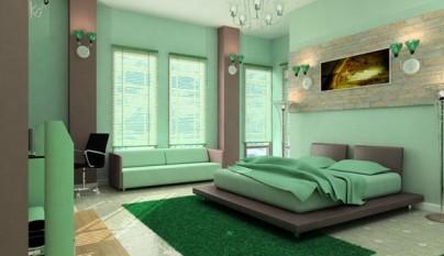 Dormitorio verde39