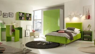 Dormitorio verde40