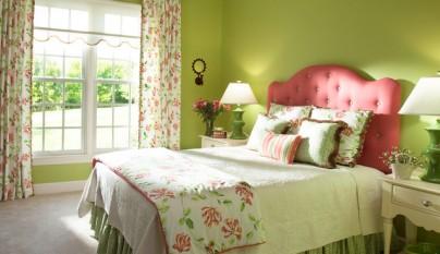Dormitorio verde8