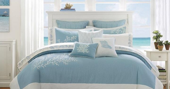 azul celeste decoracion foto