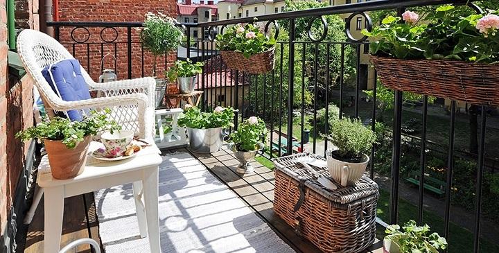 Consejos para decorar un balc n peque o - Decorar balcon pequeno ...