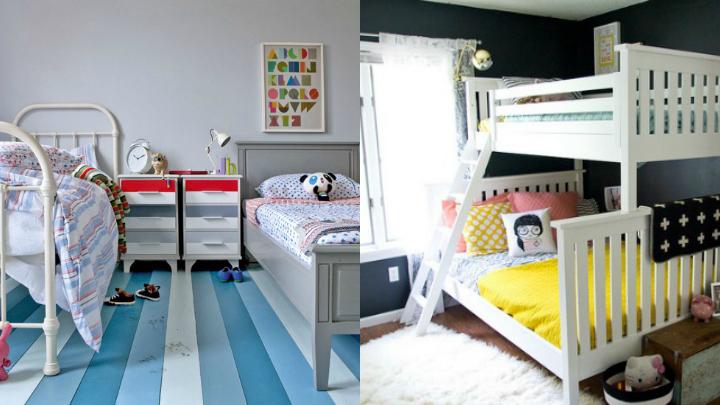 camas habitacion compartida