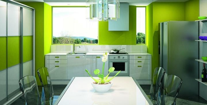 Cocinas de colores vivos - Cocinas con colores vivos ...