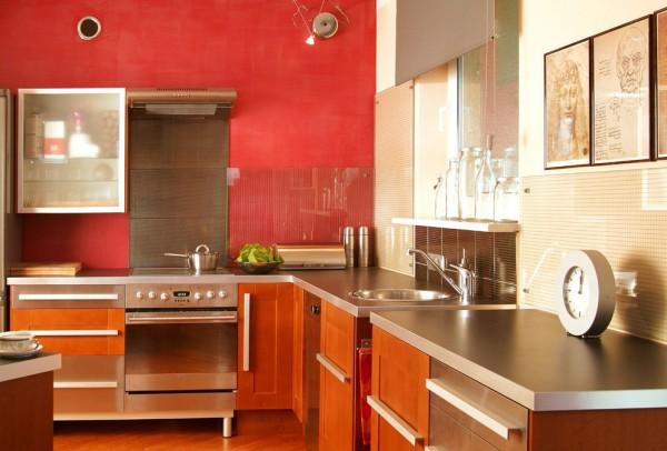 Cocinas colores19 - Pintura para muebles de cocina ...