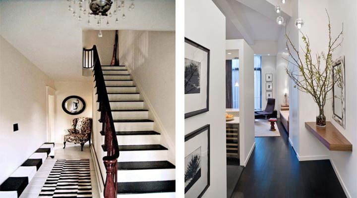 Consejos para iluminar un pasillo largo - Como decorar un pasillo estrecho y oscuro ...