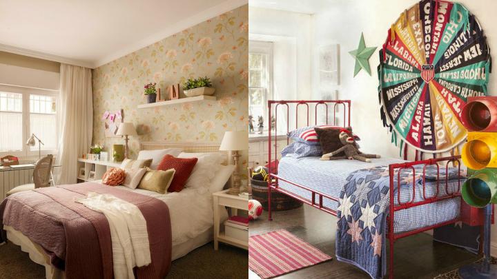 dormitorio americano