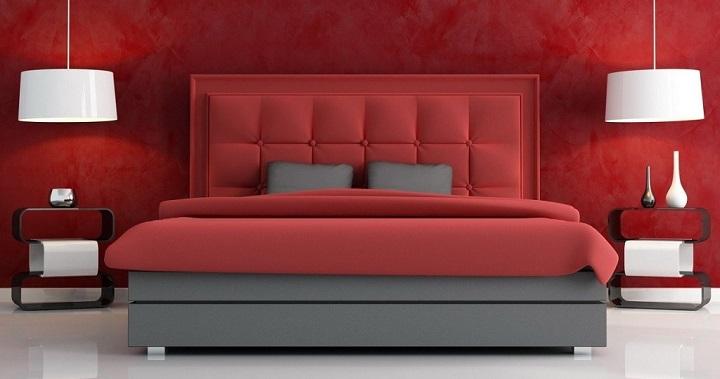 dormitorio rojo foto0