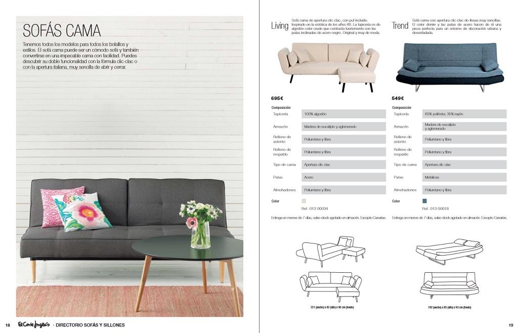 El corte ingles sofas y sillones10 for Sofas rinconeras el corte ingles
