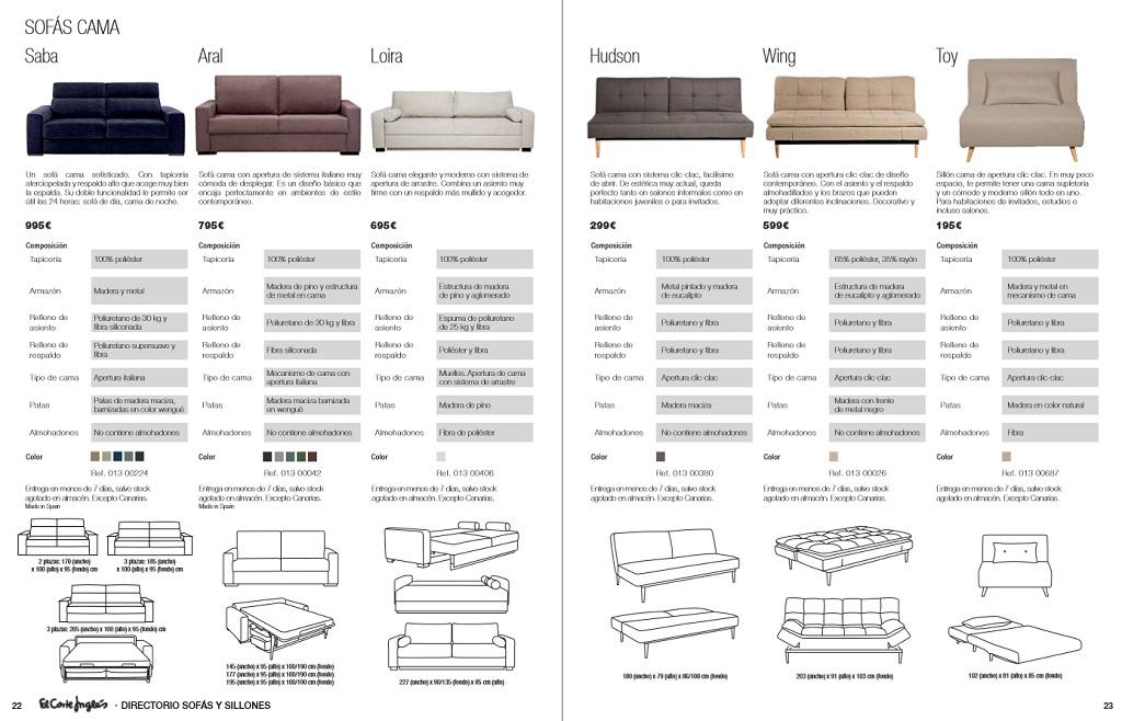 El corte ingles sofas y sillones12 for Sofas rinconeras el corte ingles