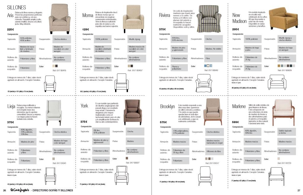 El corte ingles sofas y sillones14 for Sofas rinconeras el corte ingles