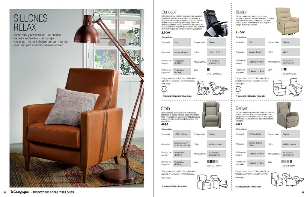 El corte ingles sofas y sillones16 - Sillones el corte ingles ...