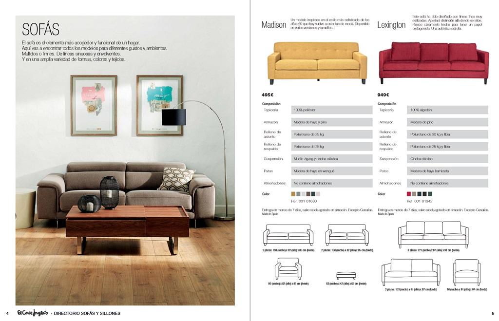 El corte ingles sofas y sillones3 for Sofas rinconeras el corte ingles