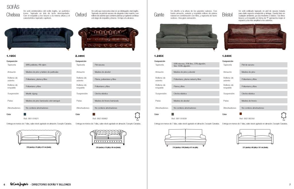 El corte ingles sofas y sillones4 for Sofas rinconeras el corte ingles