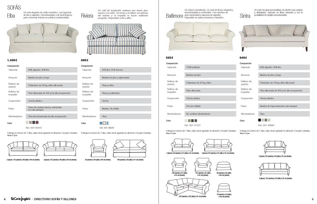 El corte ingles sofas y sillones5 for Sofas rinconeras el corte ingles
