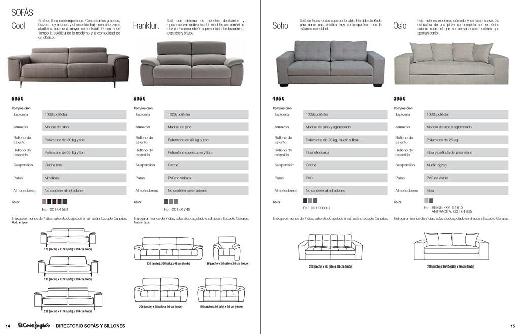El corte ingles sofas y sillones8 for Sofas rinconeras el corte ingles