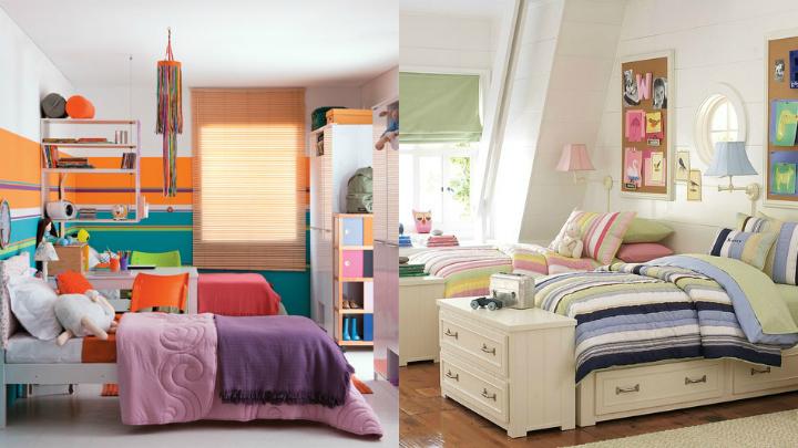 Consejos para decorar una habitaci n compartida por dos - Habitacion para dos ninos ...