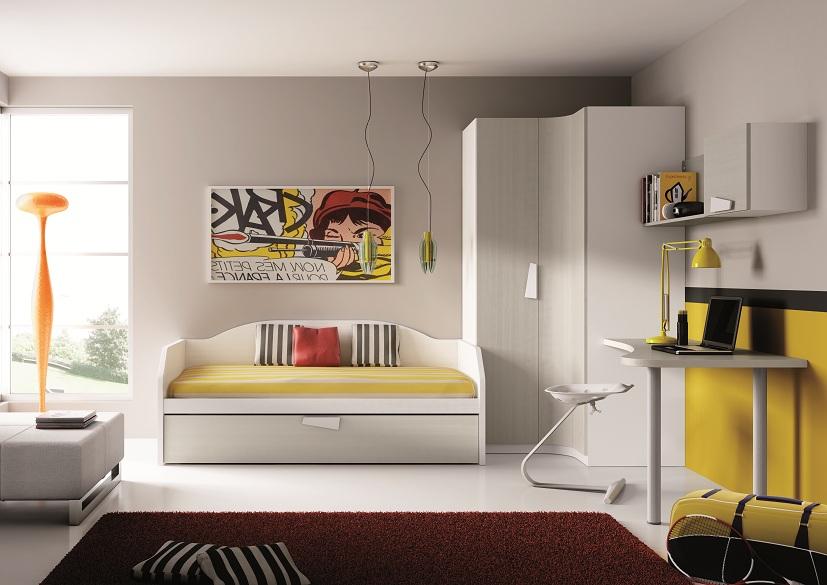 Habitaciones adolescentes24 - Iluminacion habitacion juvenil ...