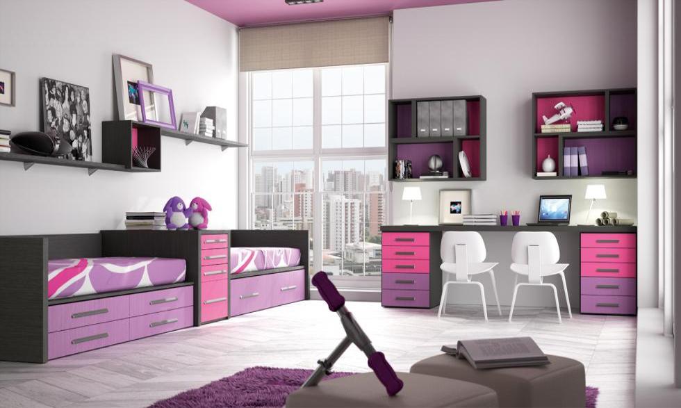 Fotos de habitaciones juveniles for Habitaciones juveniles completas baratas