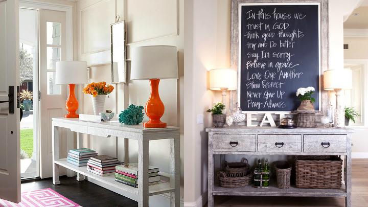 Muebles para colocar en la entrada de casa - Casas de muebles ...