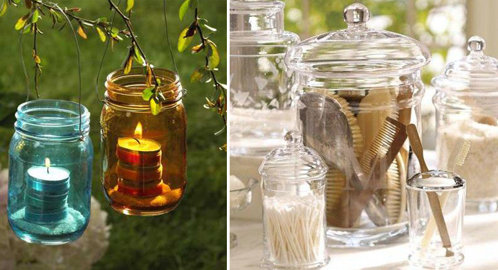 Ideas Para Decorar Un Baño Con Velas:ideas para decorar con envases de cristal