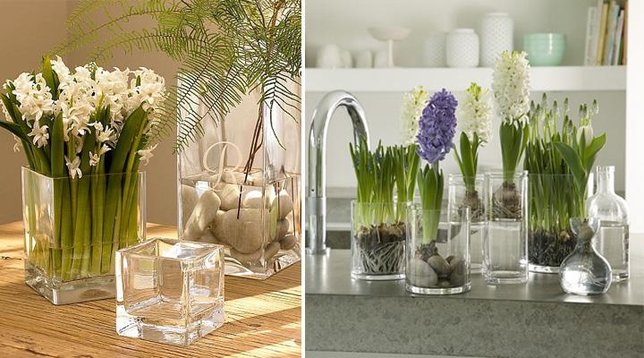 Ideas para decorar con envases de cristal for Decoracion de frascos de vidrio para cocina
