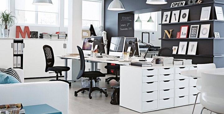 Ideas de ikea para decorar despachos y oficinas for Ideas oficinas modernas