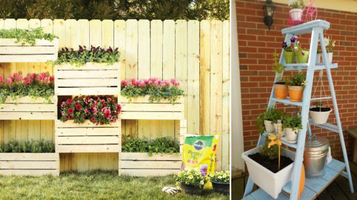 Jardines verticales para decorar tu casa for Adornos metalicos para jardin