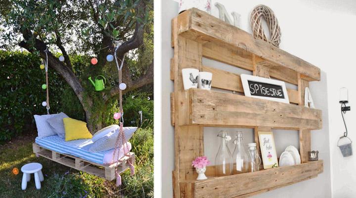 Decorablog revista de decoraci n - Muebles hechos con palets de madera ...