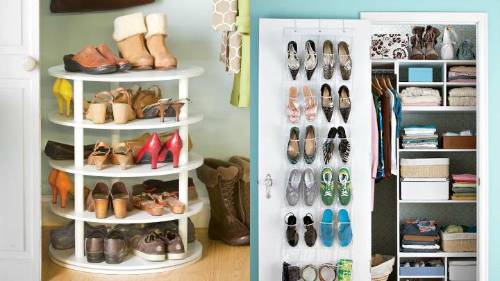 Ideas para guardar los zapatos