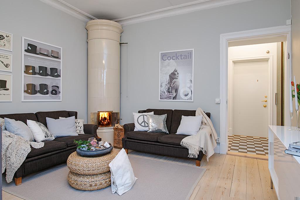 Fotos de salones de estilo n rdico - Salones estilo nordico ...