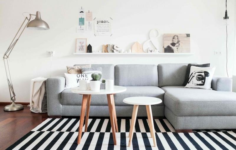 Fotos de salones de estilo n rdico - Salon nordico ikea ...