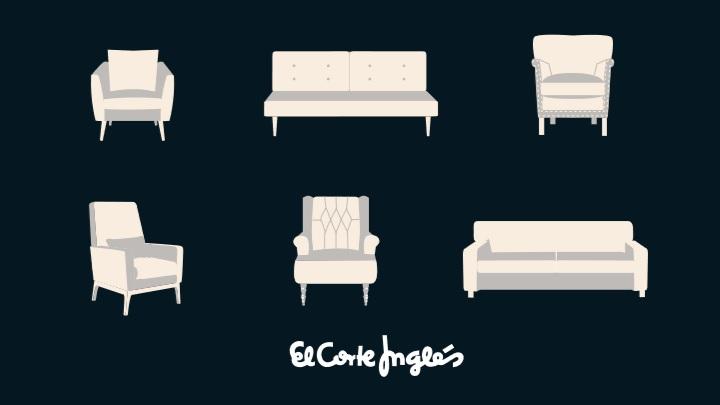 sofas y sillos el corte ingles