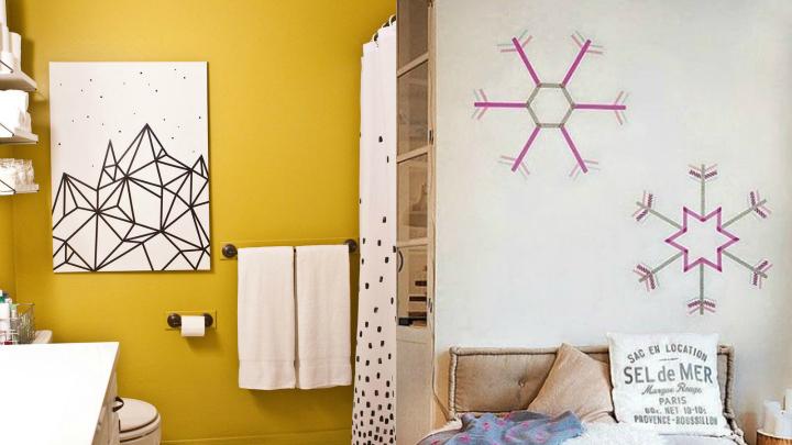 washi tape paredes