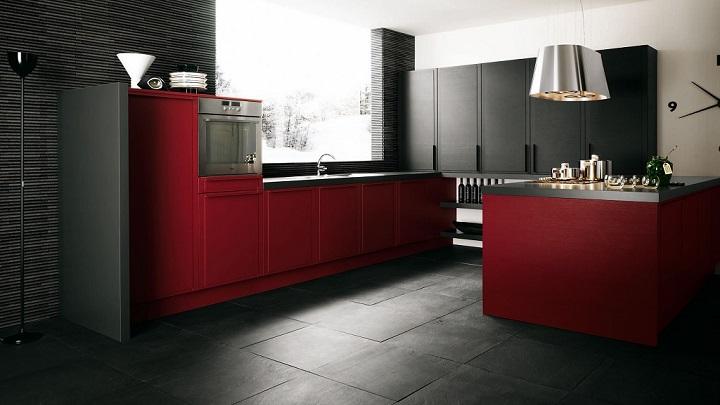 Cocina roja foto4