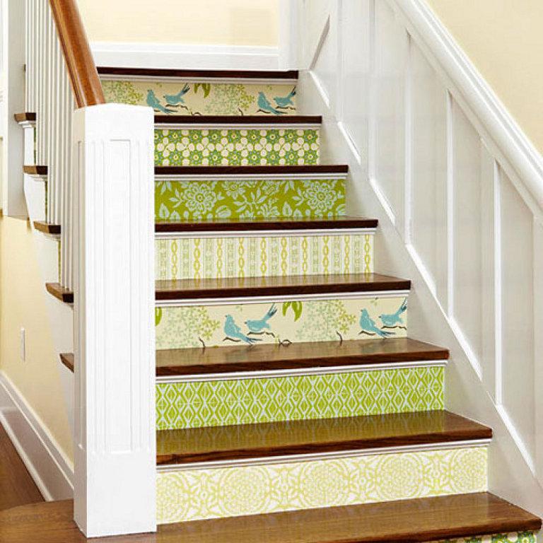 Decorar escaleras 11 - Escaleras para pintar ...