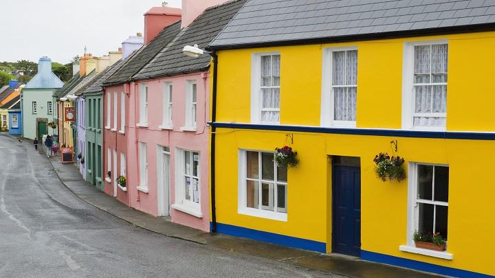 C mo pintar la fachada de casa for Colores de casa para afuera