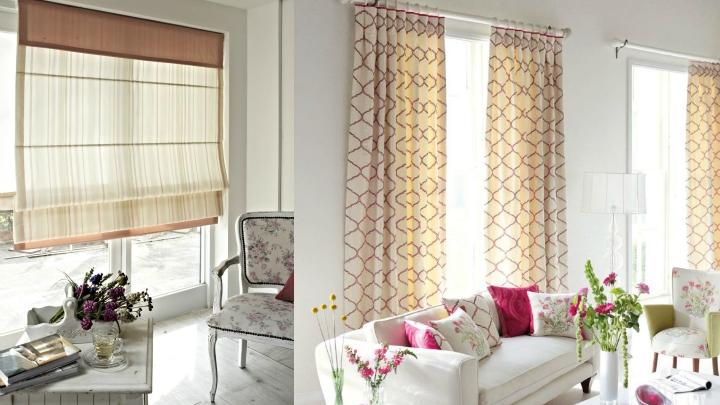 La cortina perfecta para cada tipo ventana - Tipos de cortinas para salon ...