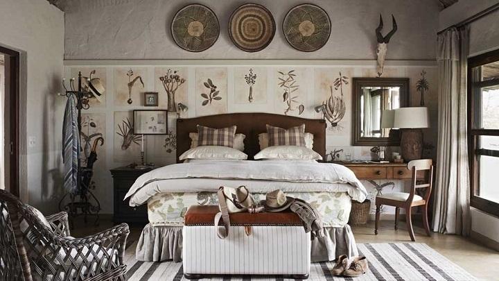 dormitorio etnico foto