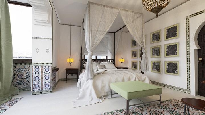 dormitorio etnico foto4