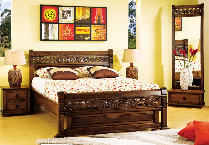 Dormitorio etnico31 for Muebles namar